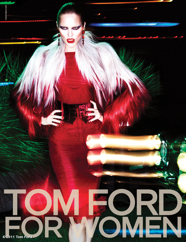 Tom Ford Autumn/Winter 2011 Ad Campaign: Candice Swanepoel and Jon Kortajarena by Mert & Marcus 45102 la