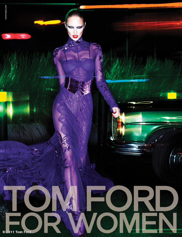 Post image for Tom Ford Autumn/Winter 2011 Ad Campaign: Candice Swanepoel and Jon Kortajarena by Mert & Marcus