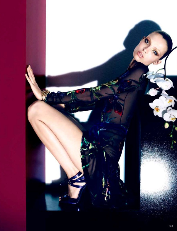 Carola Remer in head to toe TOM FORD for Vogue Germany, September 2011 0911 cl 005 Tom Ford2 22