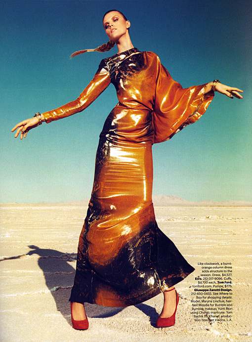 Maryna Linchuk in TOM FORD for Harper's Bazaar, September 2011 12 MARYNA LINCHUK HARPERS BAZAAR SEPTEMBER 2011 PAOLA KUDACKI 409