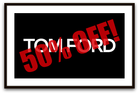 Calling all New Yorkers: 50% Off TOM FORD S/S 2011 Womenswear Collection TFlogo