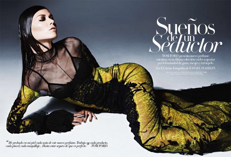 Sheila Marquez wears TOM FORD for Harpers Bazaar Spain 64964 800w
