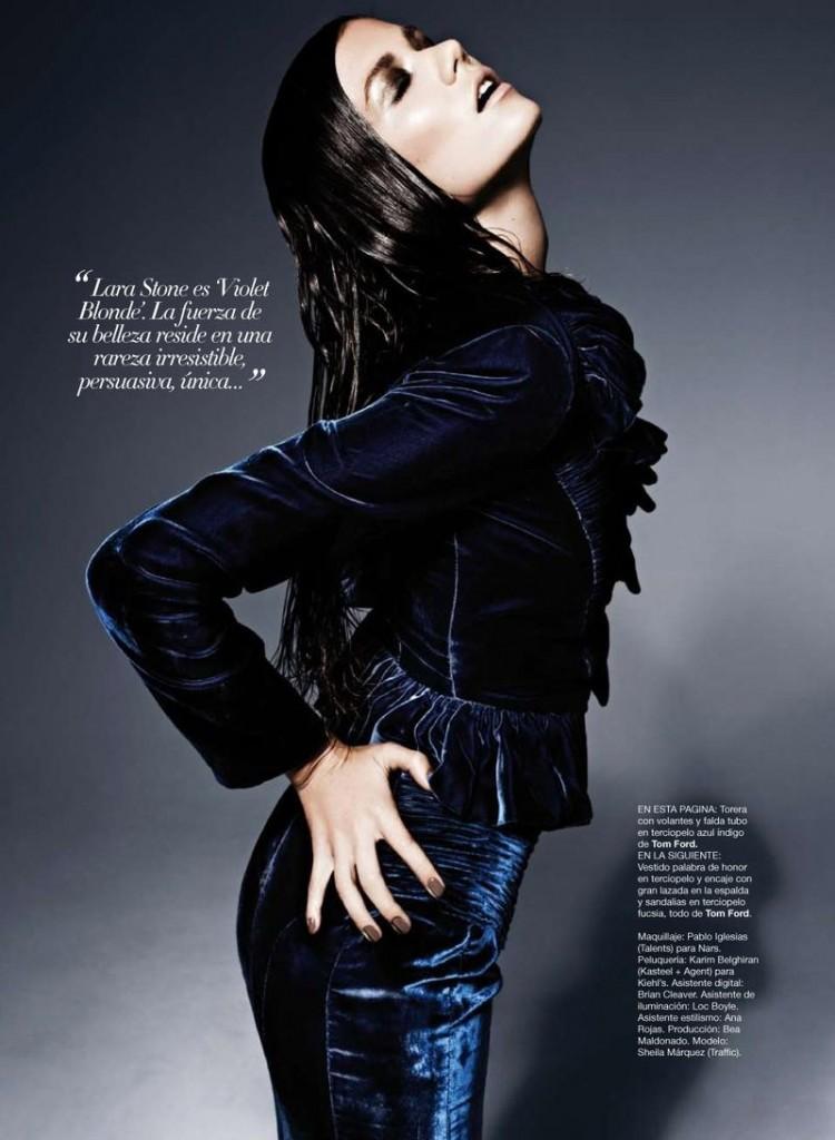 Sheila Marquez wears TOM FORD for Harpers Bazaar Spain 64967 800w 750x1024
