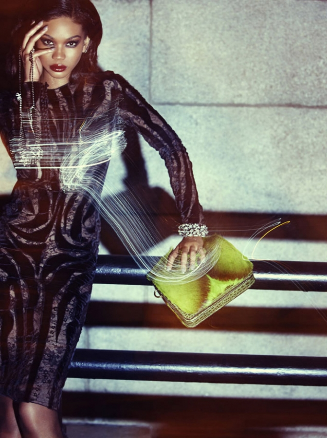Post image for Chanel Iman wears TOM FORD for Wonderland Magazine (NSFW)