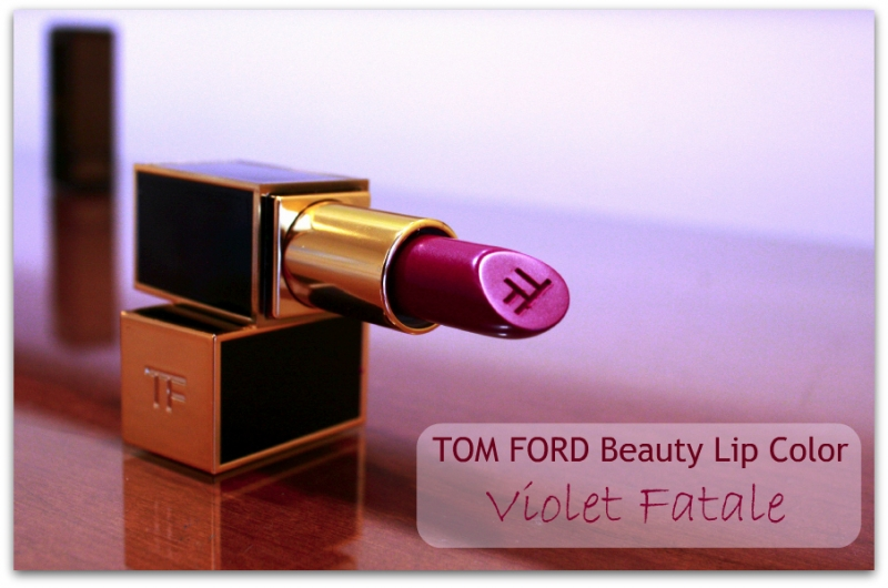 Post image for TOM FORD Beauty: Violet Fatale Lip Color Review & Swatches