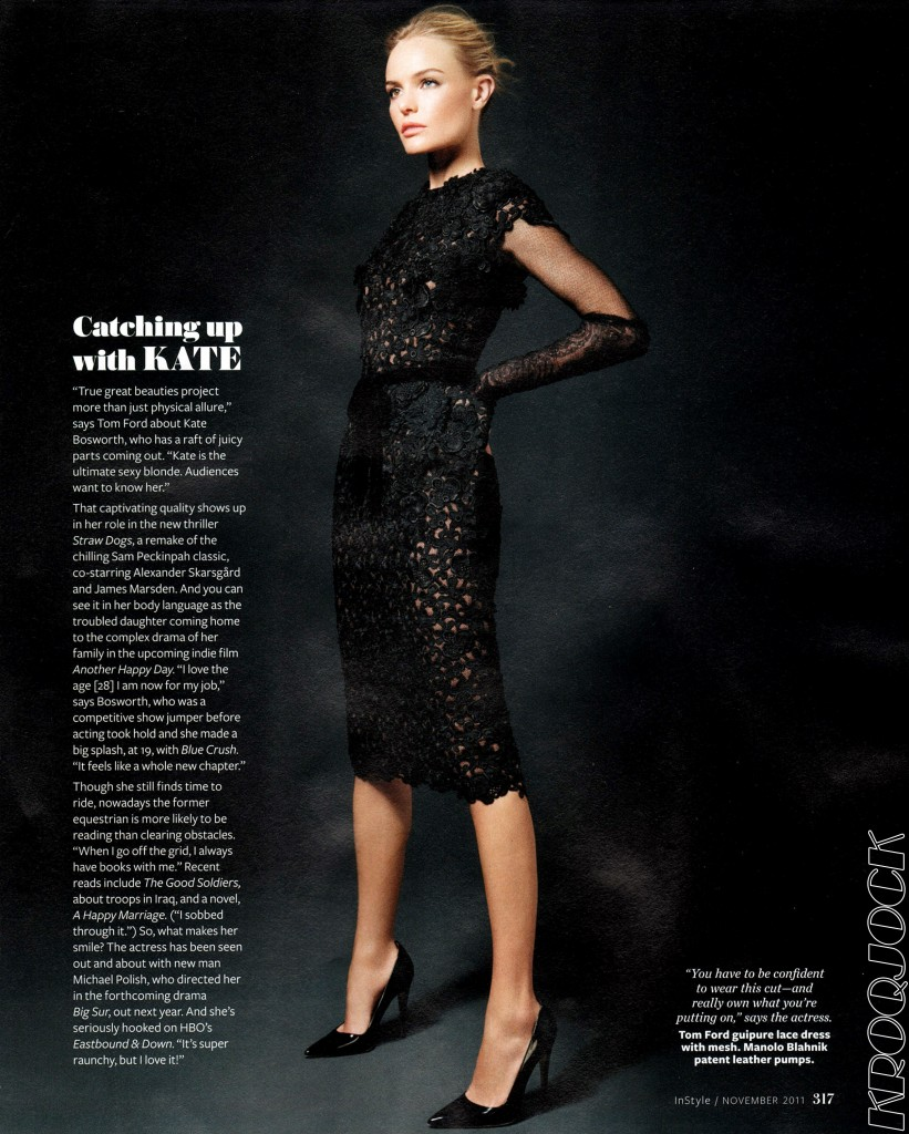 Kate Bosworth wears TOM FORD for InStyle, November 2011 Kate Bosworth.INSTYLE.November 2011.4 821x1024 