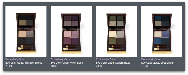 TOM FORD Beauty: Pre Order the Collection in the U.S. TODAY! eyes 