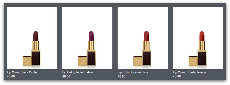 TOM FORD Beauty: Pre Order the Collection in the U.S. TODAY! lips 