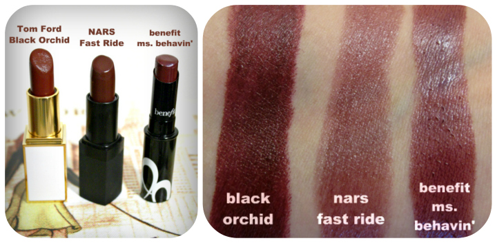 TOM FORD Beauty: Black Orchid Lip Color Review & Swatches swatches1