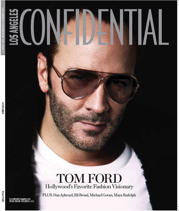 Sneak Peak: Tom Ford Covers Los Angeles CONFIDENTIAL tomford LA CONFIDENTIAL COVER