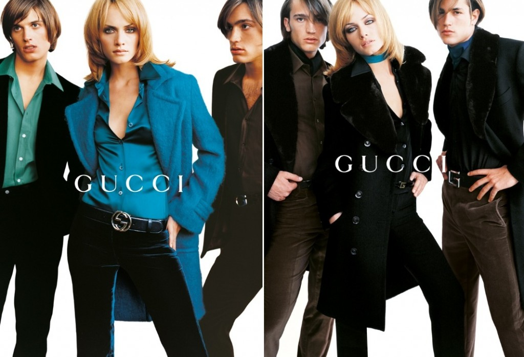 Getting Personal: Thank You, Tom Ford. Gucci Ford Amber Valletta Testino FW1995 1024x698