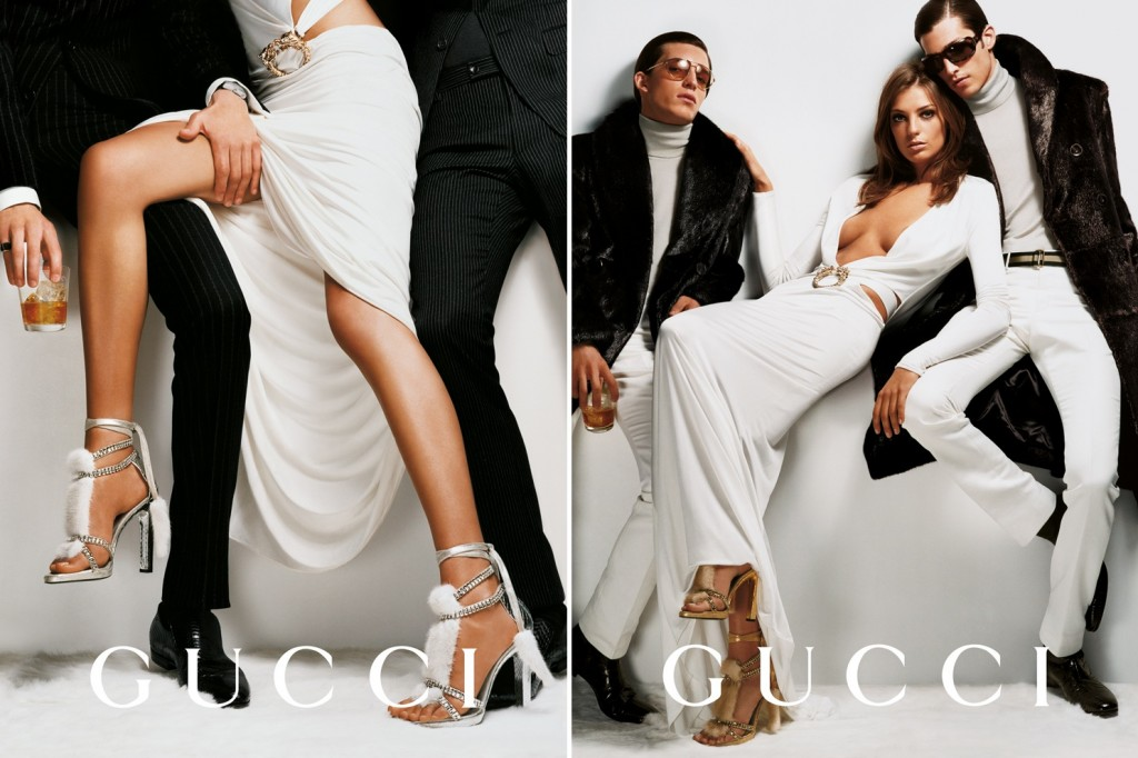 Getting Personal: Thank You, Tom Ford. Gucci Ford Testino Daria Werbowy AW2004 1 1024x682 