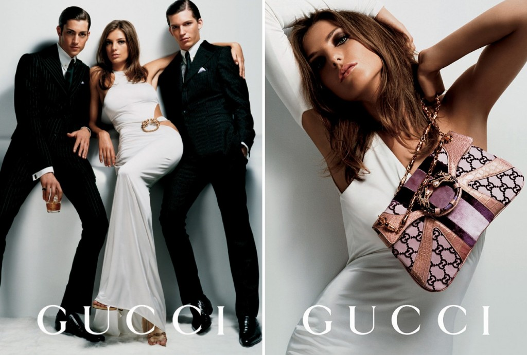 Getting Personal: Thank You, Tom Ford. Gucci Ford Testino Daria Werbowy AW2004 2 1024x691 