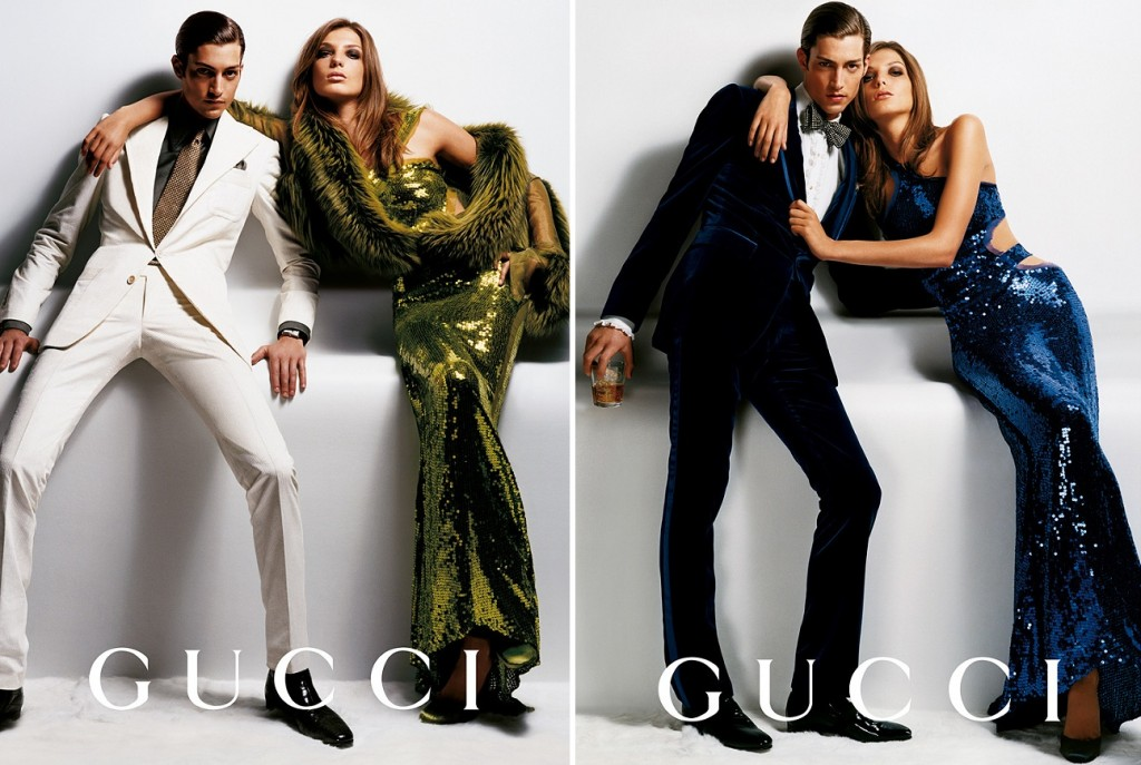Getting Personal: Thank You, Tom Ford. Gucci Ford Testino Daria Werbowy AW2004 3 1024x687 