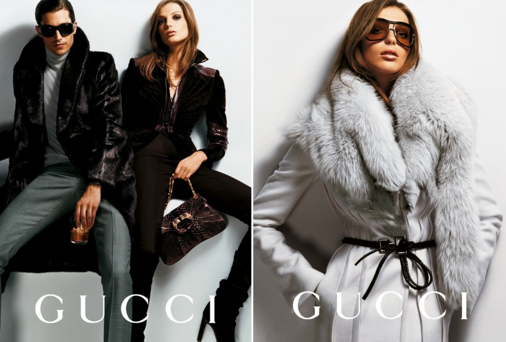 Getting Personal: Thank You, Tom Ford. Gucci Ford Testino Daria Werbowy AW2004 4 1024x692 