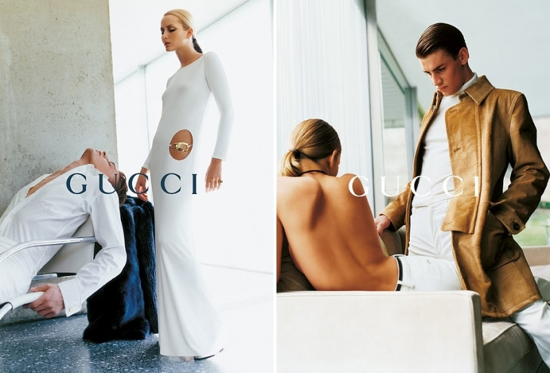Getting Personal: Thank You, Tom Ford. Gucci Ford Testino Georgina Grenville AW1996 4 