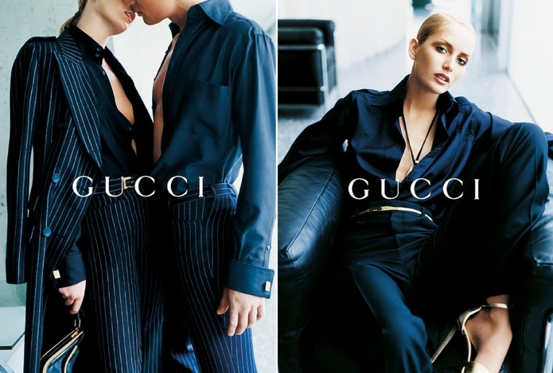 Getting Personal: Thank You, Tom Ford. Gucci Ford Testino Georgina Grenville AW1996 5