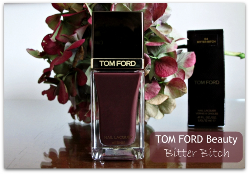 TOM FORD Beauty: Bitter Bitch Nail Lacquer Review & Swatches bitterbitchheader