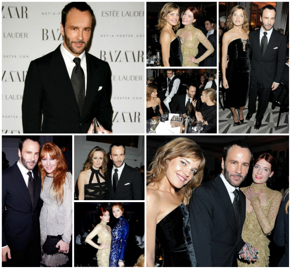 Tom Ford Honored as Harpers Bazaar UKs Man in a Womans World fordaward