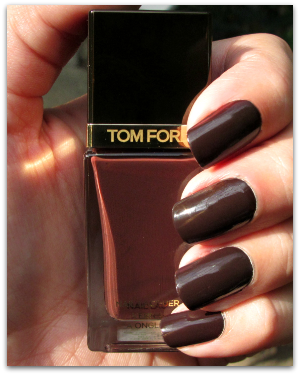 TOM FORD Beauty: Bitter Bitch Nail Lacquer Review & Swatches light bitterbitch