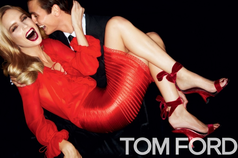 TOM FORD S/S 2012 Ad Campaign: Mirte Maas and Mathias Bergh by Tom Ford (UPDATED) memo tom ford01