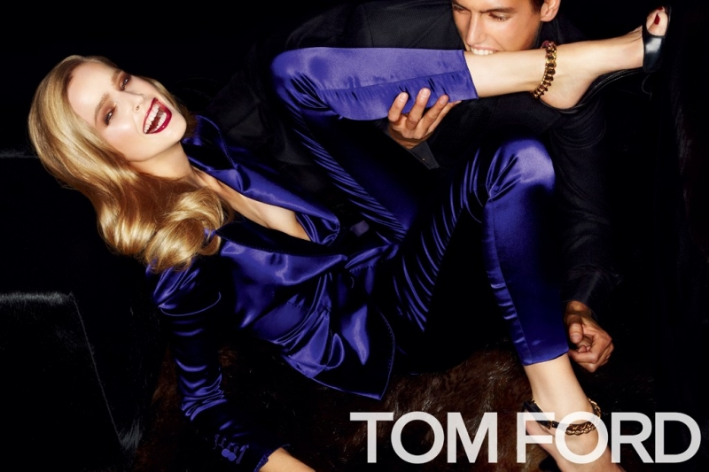 TOM FORD S/S 2012 Ad Campaign: Mirte Maas and Mathias Bergh by Tom Ford (UPDATED) memo tom ford02