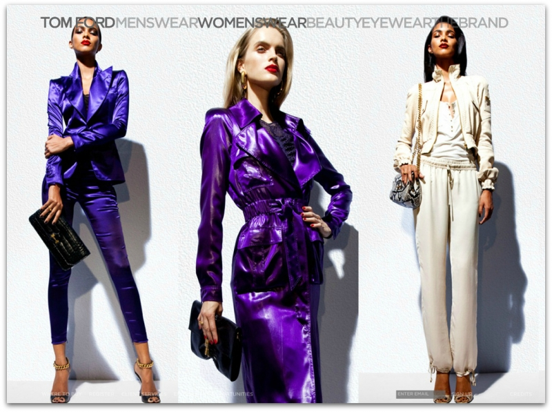 Post image for The Official Lookbook: TOM FORD Spring/Summer 2012 Womenswear Collection Images (HQ)