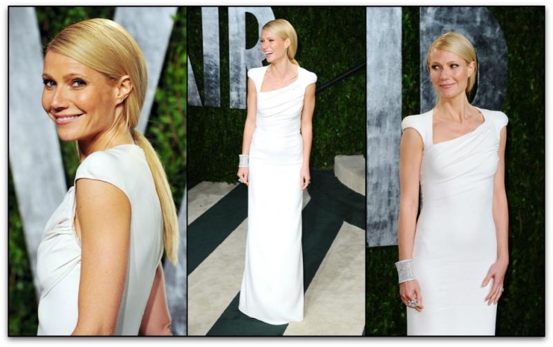 Gwyneth Paltrow Debuts TOM FORD Autumn/Winter 2012 at 84th Annual Academy Awards gwyneth sleeves