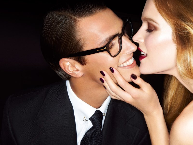 Mirte Maas for TOM FORD S/S 2012: The Ad Campaign Beauty Products tomford2