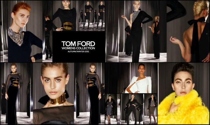 BREAKING NEWS: Watch the TOM FORD Fall/Winter 2012 Womenswear Collection Video NOW! Tom Ford Fall Winter 20121