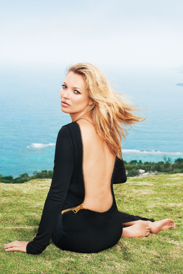 Post image for Kate Moss Wears TOM FORD for Harper's Bazaar June/July 2012