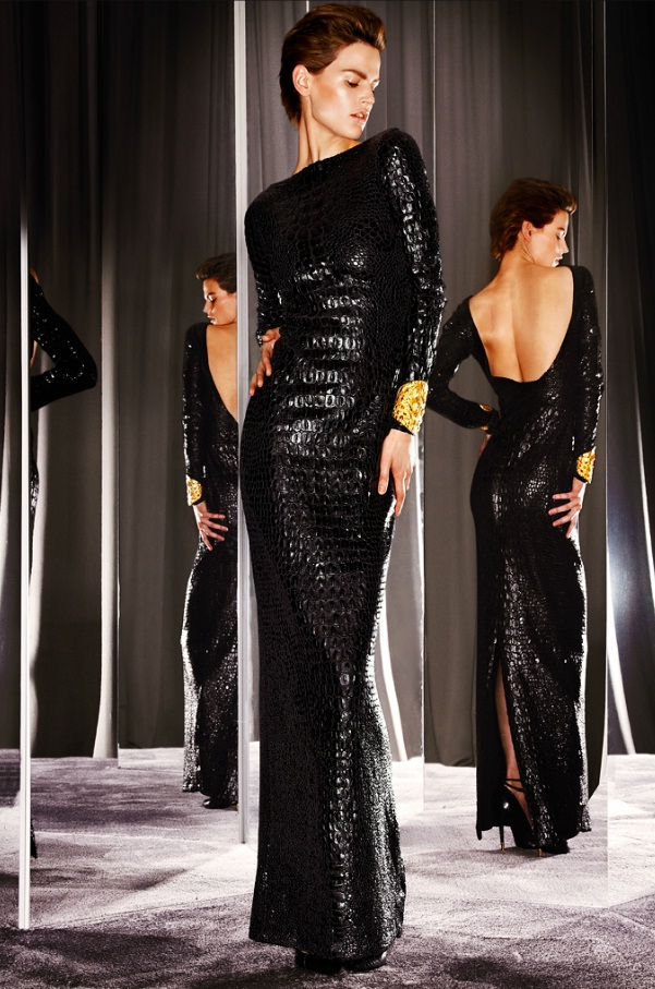 Rihanna Wears TOM FORD Autumn/Winter 2012 to Met Costume Institute Gala rihannadress1