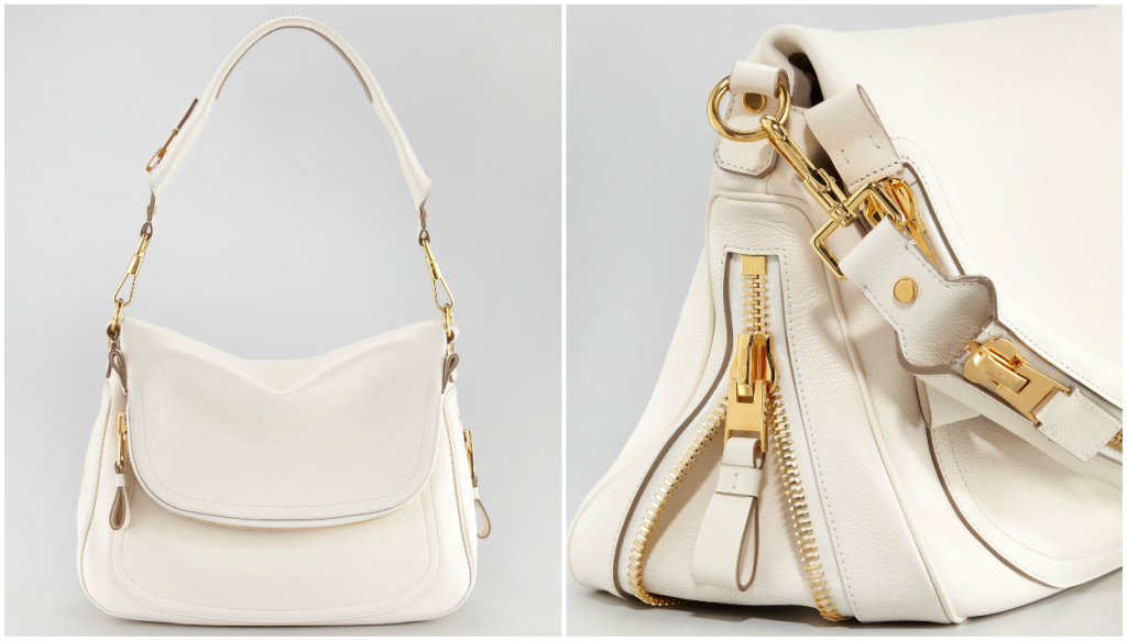 HOT: Buy TOM FORD Shoes and Handbags Online Now! TOM FORD JENNIFER FLAP TOP IVORY 1024x583