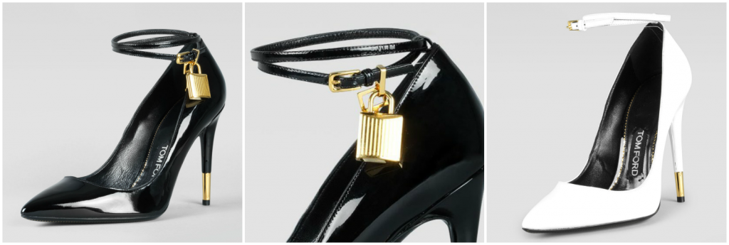 HOT: Buy TOM FORD Shoes and Handbags Online Now! TOM FORD PADLOCK ANKLE STRAP PUMP 1024x345