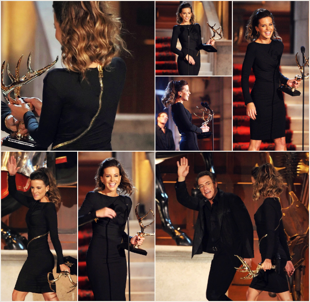 Who Wore it Best: TOM FORD Double Georgette Zip Cocktail Dress kate beckinsdale tom ford