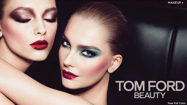 TOM FORD Beauty Fall 2012 Ad Campaign: Snejana & Daga 082112 DLP TOM FORD