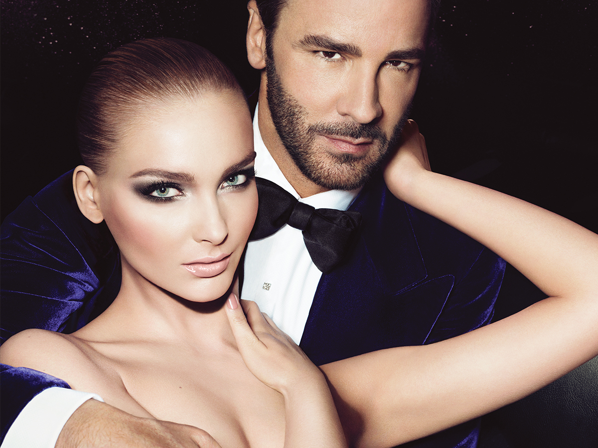 TOM FORD Beauty Fall 2012 Ad Campaign: Snejana & Daga TOMFORD BEAUTY