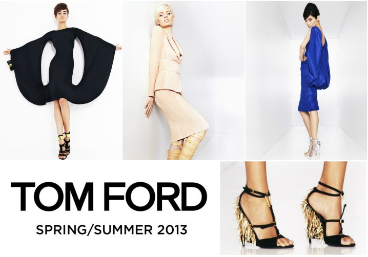 Breaking News: The Complete TOM FORD Spring/Summer 2013 Lookbook & Video TF SS2013