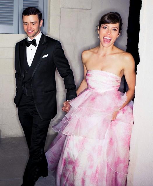 Jessica Biel & Justin Timberlake: A TOM FORD/Giambattista