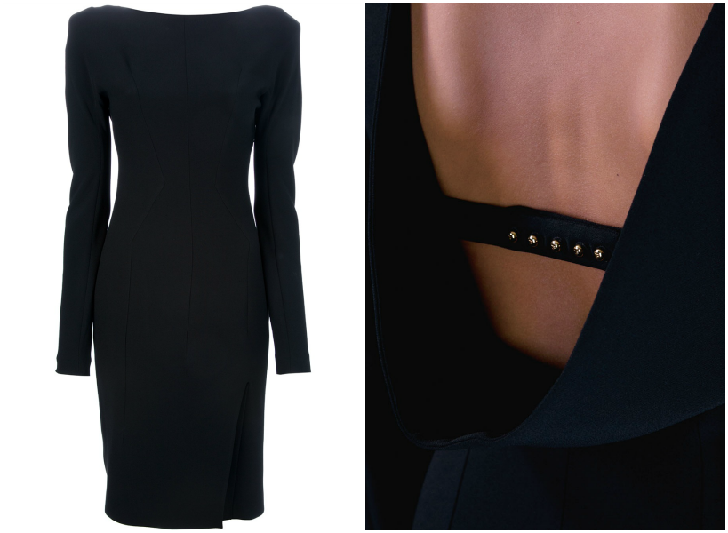 HOT: Buy TOM FORD Womenswear ONLINE Now! (Limited Selection) draped back dress