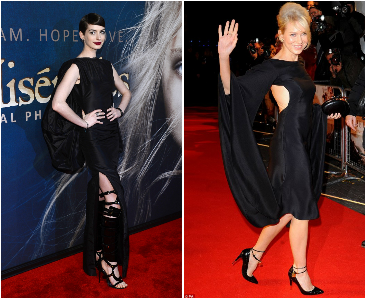 Anne Hathaway: 50 Shades of Bondage y at the Les Misérables Premiere Anne Naomi