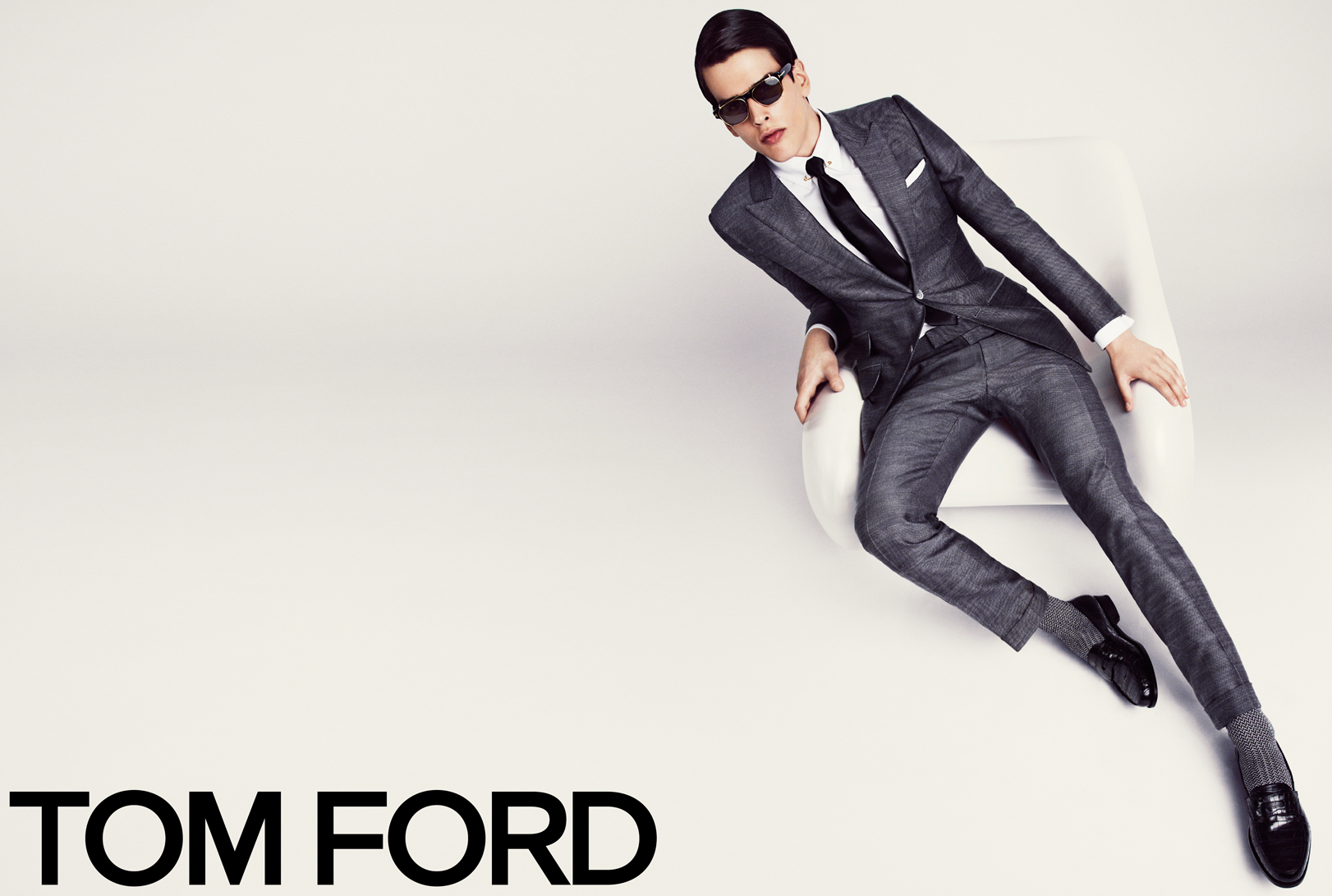 TOM FORD Spring/Summer 2013 Ad Campaign: Karlina Caune and Simon Van Meervenne (Hi Res) M SS13 CAMPAIGN