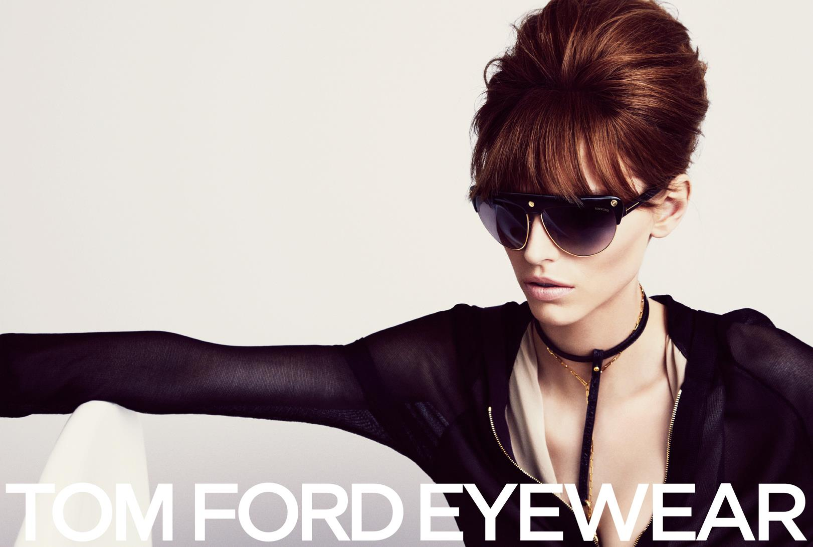 TOM FORD Spring/Summer 2013 Ad Campaign: Karlina Caune and Simon Van Meervenne (Hi Res) TFE SS13 CAMPAIGN