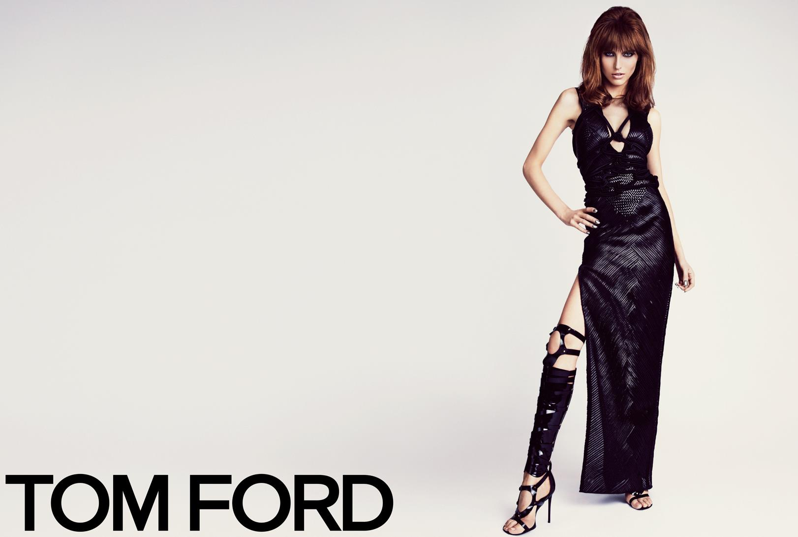 TOM FORD Spring/Summer 2013 Ad Campaign: Karlina Caune and Simon Van Meervenne (Hi Res) W SS13 CAMPAIGN 11