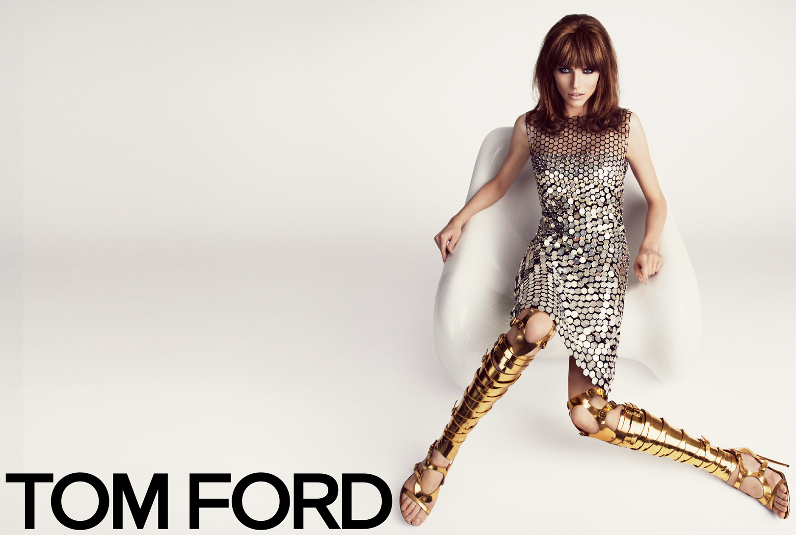 TOM FORD Spring/Summer 2013 Ad Campaign: Karlina Caune and Simon Van Meervenne (Hi Res) W SS13 CAMPAIGN 2