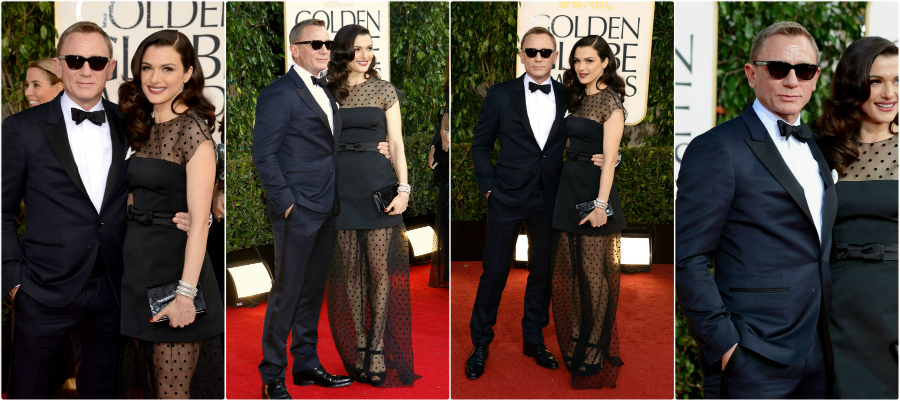 TOM FORD Shines at the Golden Globes daniel craig tom ford gg