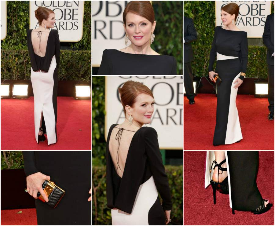 TOM FORD Shines at the Golden Globes julianne moore tom Ford GG