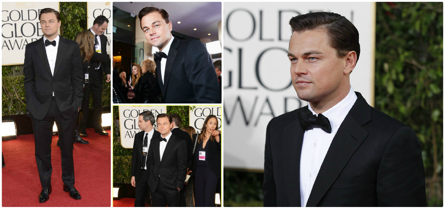 TOM FORD Shines at the Golden Globes leonardo dicaprio tom ford gg