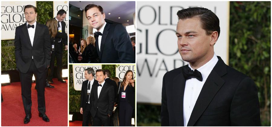 TOM FORD Shines at the Golden Globes leonardo dicaprio tom ford gg