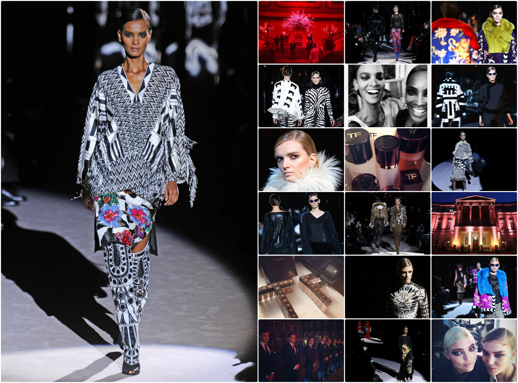 TOM FORD Fall/Winter 2013 2014 Womenswear Runway Show/London Fashion Week TF LFW